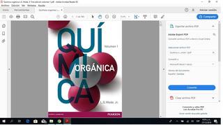 Química Organica L.g. Wade, Jr 7ma Edicion Volumen 1