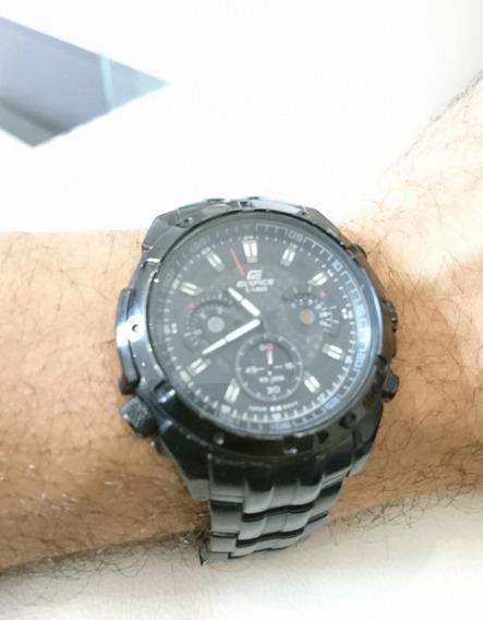 Relógio Casio Edifice Ef-535bk-1av