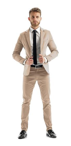 Chupines Vestir Con Saco Slim Fit Y Zapatos Charol Imported