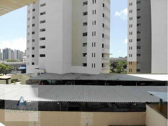 Apartamento Com 3 Dormitórios À Venda, 91 M² Por R$ 340.000 - Dionisio Torres - Fortaleza/ce - Ap0689