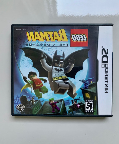 Lego Batman The Video Game - Nintendo Ds