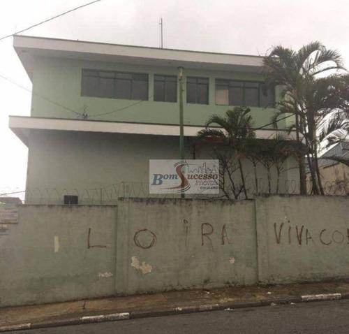 Imagem 1 de 22 de Galpão À Venda, 800 M² Por R$ 3.000.000,00 - Vila Nova York - São Paulo/sp - Ga0160