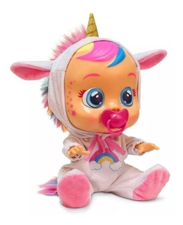 Muñeca Cry Babies Unicornio Dreamy E. Full