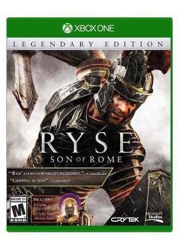 Jogo Novo Ryse Son Of Rome Legendary Edition Para Xbox One