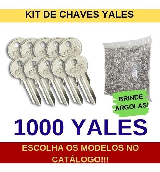 Kit De 1000 Chaves Yales Virgens Para Cópia - Rca