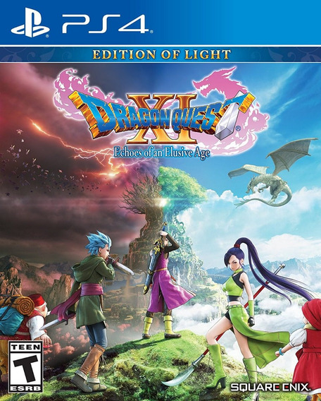 Dragon Quest Xi Echoes Of An Elusive Age - Ps4 Midia Fisica