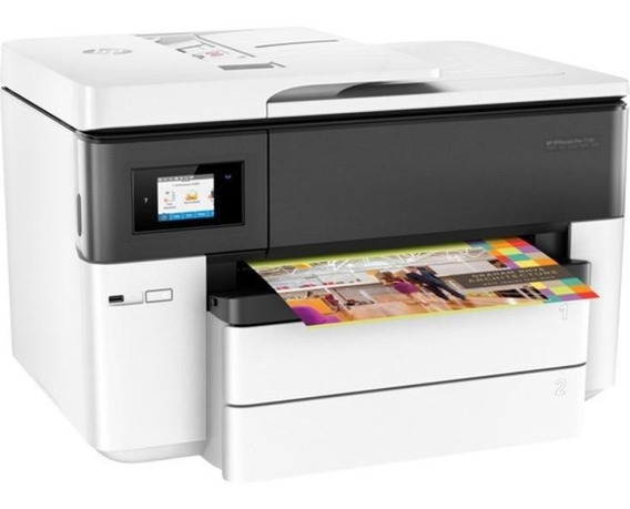 Multifuncional Hp Officejet Pro Color 7740 Jato Tinta Colori