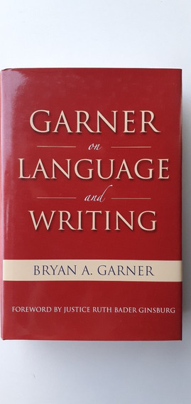 Livro Físico Garner On Language And Writing Área De Direito