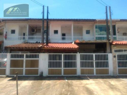 Imagem 1 de 30 de Sobrado Com 2 Dormitórios À Venda, 104 M² Por R$ 280.000 - Sítio Do Campo - Praia Grande/sp - So0210