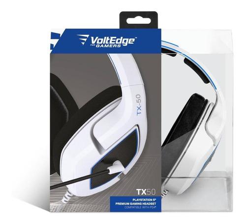 Imagen 1 de 4 de Headset Tx50 - Ps5 Voltedge ( Garantía De Por Vida )