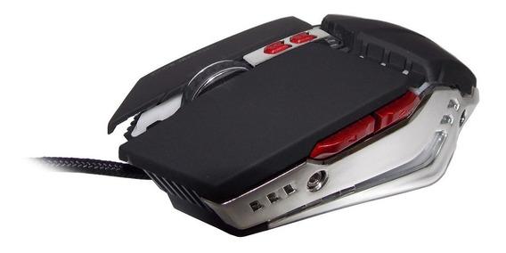 Mouse Gamer Barato 7 Botões 3200 Dpi Com Led Cabo Nylon Usb