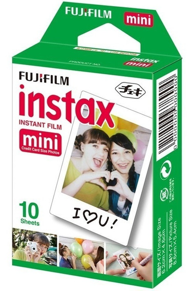 Filme Para Instax Mini 7 8 9 70 Kit Com 10 Fotos