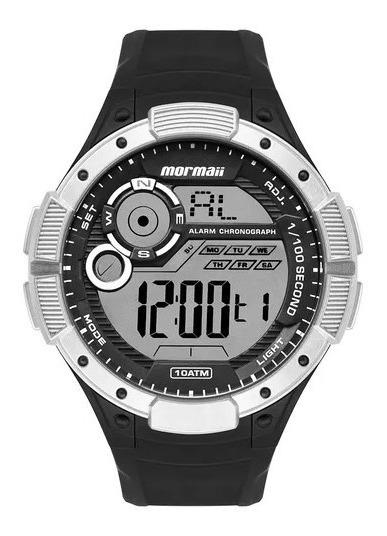 Relógio Mormaii Wave Masculino Prata Mo1590aa/8k==2