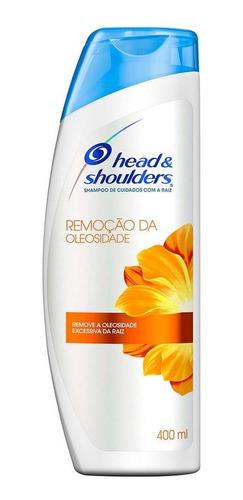 Shampoo Head & Shoulders Remoção Da Oleosidade 400ml