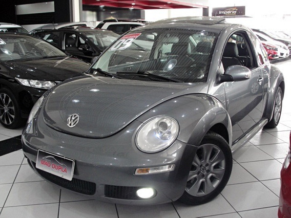 New Beetle 2.0 Tip Tronic 2009 Completo + Teto Solar
