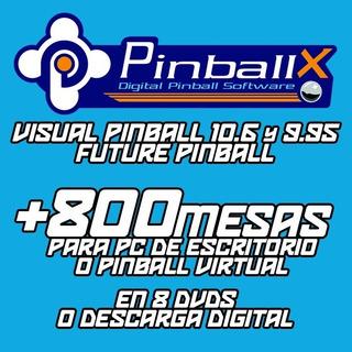 Pinballx - 1 Monitor / 2 Monitores - Dvds