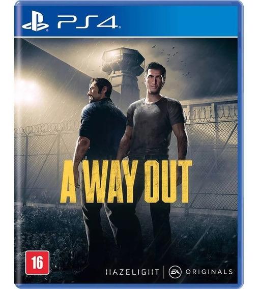 A Way Out Ps4 Mídia Física Lacrado!!!