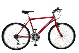 Bicicleta Mountain Bike Rodado 26 De Acero + Linga De Regalo