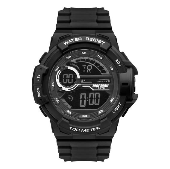 Relógio Mormaii Masculino Wave Acqua Preto Mo3660ab/8p Top