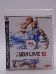 Nba Live 10 Play Station 3 Original Mídia Física