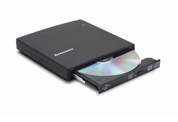 Leitor E Gravador De Cd/ Dvd Lenovo Slim Usb 2.0