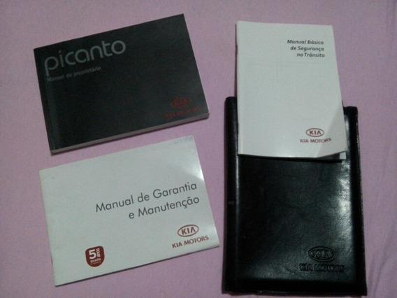 Kit Manual Proprietario Kia Picanto