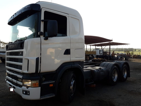 Scania R124 420 6x4nz Retarder Bug Leve Ano 2005