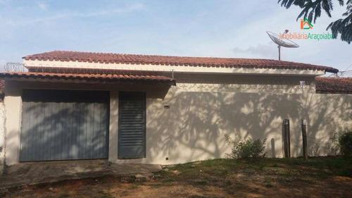 Imagem 1 de 15 de Casa Com 3 Dormitórios À Venda, 150 M² Por R$ 270.000,00 - Alcides Vieira - Araçoiaba Da Serra/sp - Ca0224