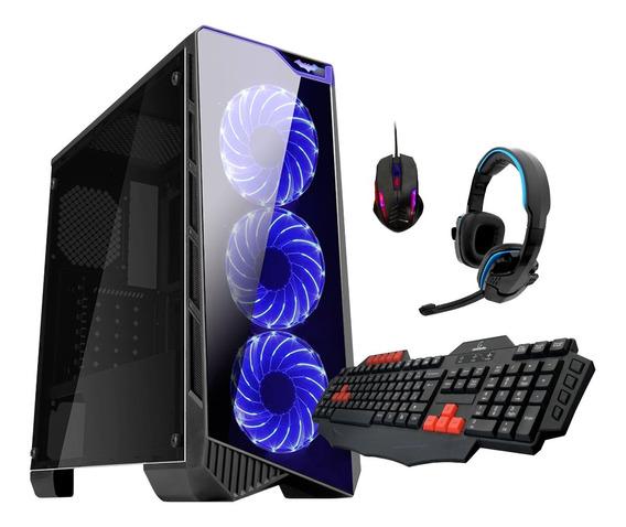 Pc Gamer Concordia Core I7 8gb Ddr4 Hd 2tb Gtx 1050 2gb