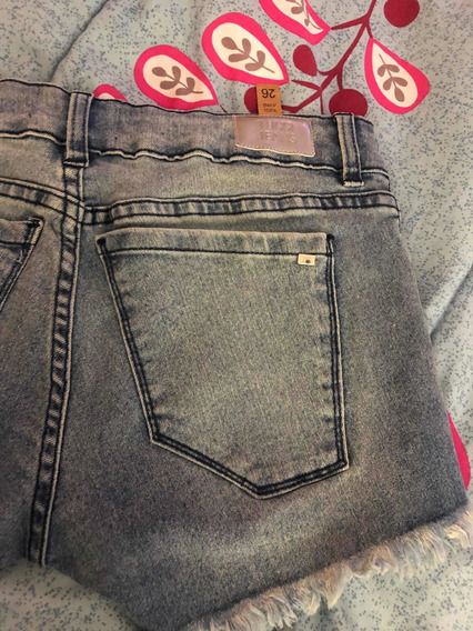 Short De Jeans Tucci Talle 26