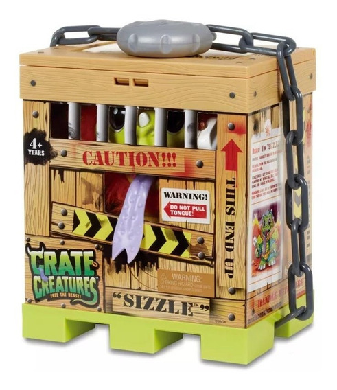 Brinquedo Crate Creatures Free The Beast Sizzle Candide