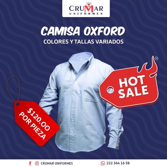 Camisa Oxford Colores Y Tallas Variados