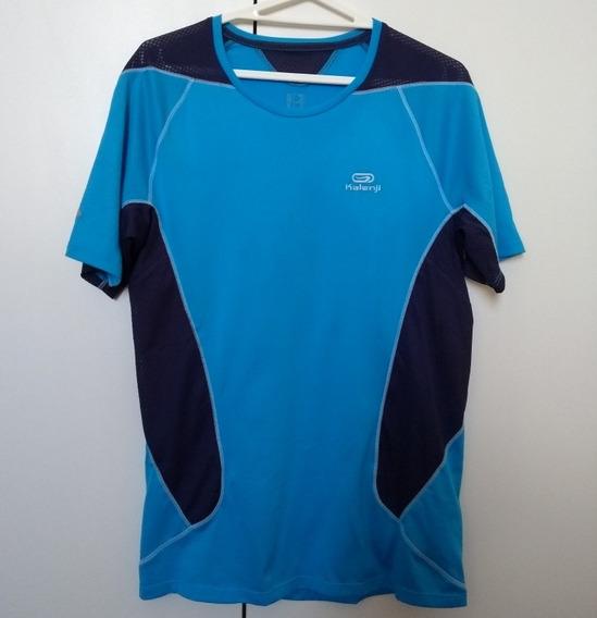 Camiseta Corrida Dryfit Transpirante Kalenji Equarea Pp Masc
