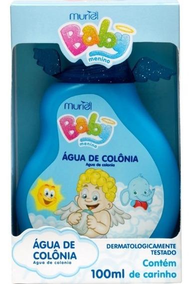 Água De Colônia Perfume Para Bebê Infantil Menino 100ml
