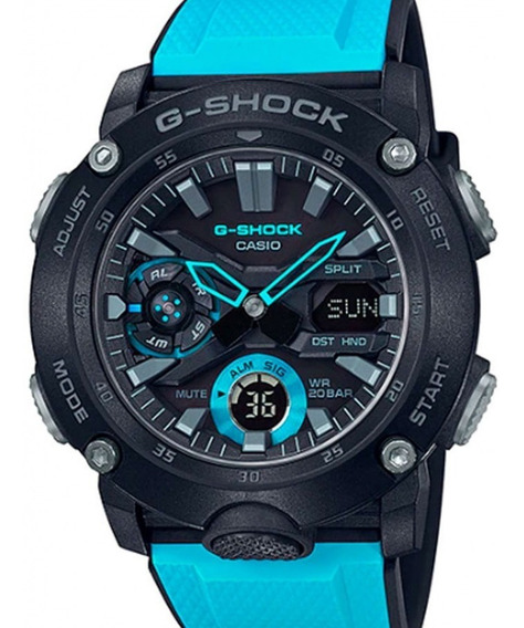 Relógio Casio Masculino G-shock Carbon Ga-2000-1a2dr
