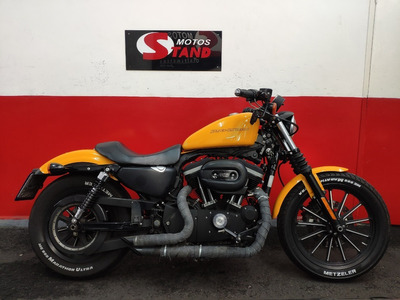 Harley Davidson Sportster Xl 883 N Iron Abs 2011 Amarela