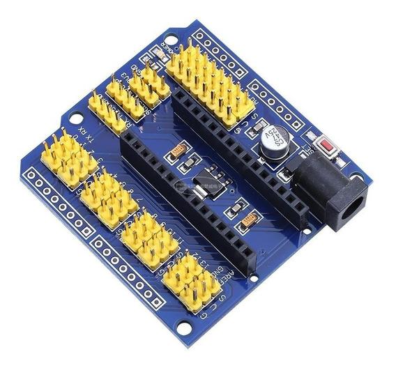 Shield Sensor Nano V3.0 Placa De Expansão Para Arduino Servo