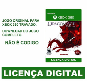 Dragon Age Origins Digital Original Xbox 360 Xbox One