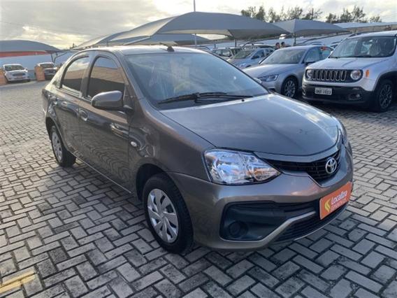 Toyota Etios 1,5 X Sedan 16v Flex 4p Automático