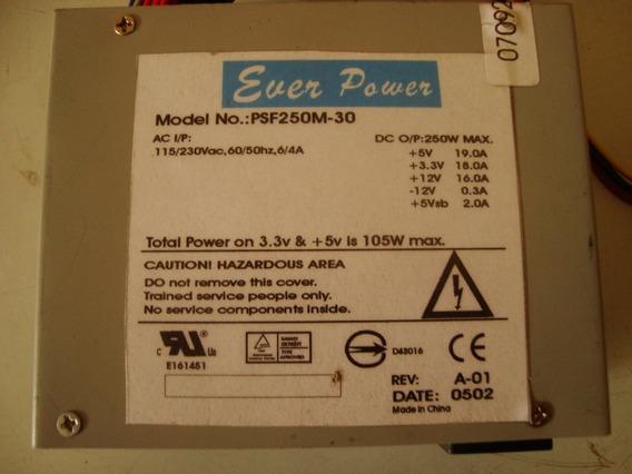 Fonte Mini Atx Ever Power Psf250m-30