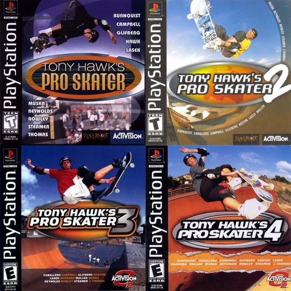 Promoção Coleção 4 Jogos Tony Hawk