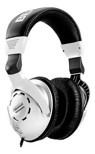 Fone De Ouvido Hps 3000 Behringer Para Estudio Over Ear