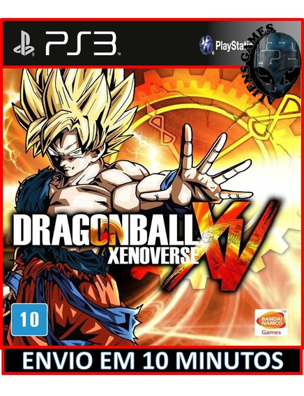 Dragon Ball Z Xenoverse Ps3 Psn Envio Rápido Hoje