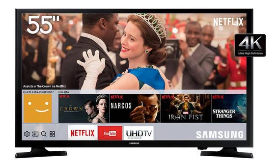 Smart Tv Led 55 4k Uhd Samsung Wi-fi Conv. Digital