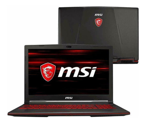 Laptop Msi Gaming Portatil Core I7 Ssd Solido Gtx 1050