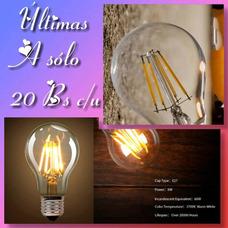 Oferta De Bombillos Led Vintage De 6w Aproveche Ultimos!!!