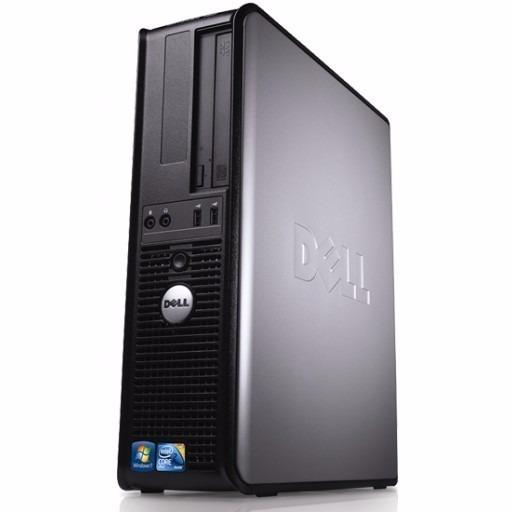 Cpu Dell Optiplex 780 Core 2 Duo 4gb Ddr3 Hd 160gb Dvd Wifi