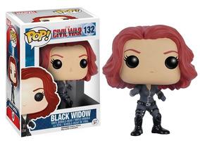 Funko Pop! Viúva Negra ( Black Widow) - Guerra Civil #132