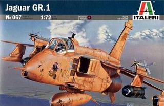 Avion Jaguar Gr1 1/72 Italeri - No 067