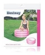Pileta Inflable Rosa 3 Aros Bebe Bestway 70 X 30